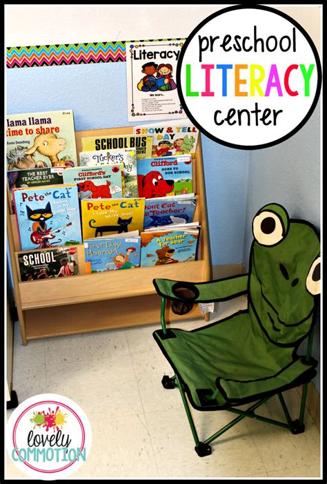 my pre k classroom tour lovely commotion 992 | literacy