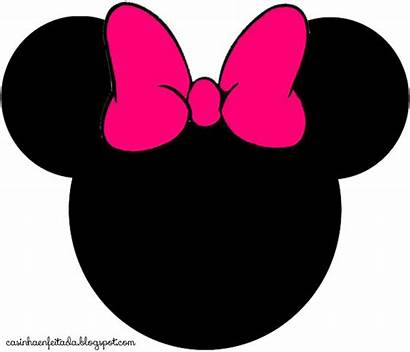 Minnie Mouse Head Clipart Pink Mini Face