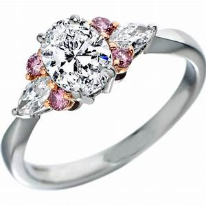 pink diamonds engagement rings from mdc diamonds nyc With pink wedding rings pictures