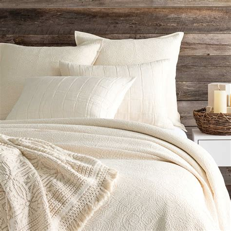 Coverlet Or Duvet by Elizabeth Ivory Matelass 233 Coverlet Pine Cone Hill
