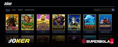 Pilihan permainan slot Joker online di situs SuperBola