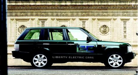For 5k, Range Rover Electric Conversion