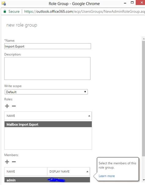 Office 365 Roles by Office 365 Add Import Export Techieshelp