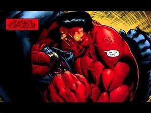 red hulk vs juggernaut - YouTube