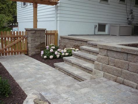 brick patio repair contractors decoration exterior extraordinary backyard decoration using paver