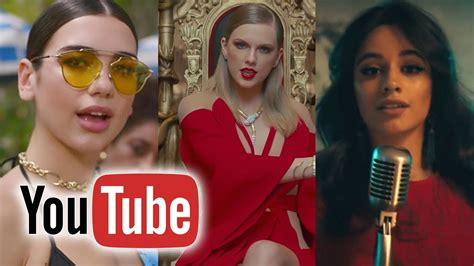 Top 100 Most Viewed Music Videos Of 2017