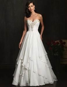 new style sweetheart wedding dress a line chapel train With a line chiffon wedding dress