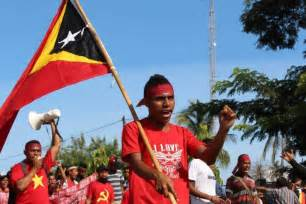 Thousands Protest Outside Australian Embassy In East Timor
