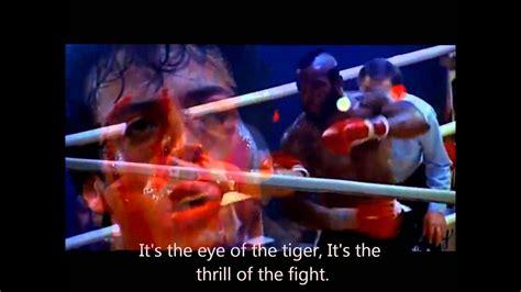 eye   tiger survivor rocky iii lyrics youtube