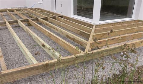 terrasse bois bricolage maison