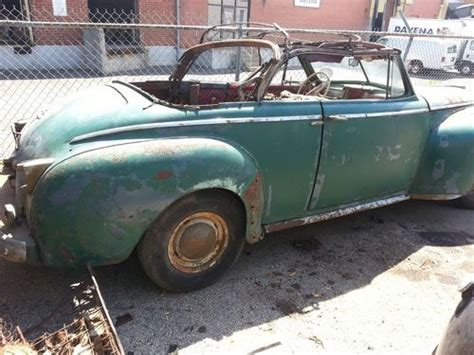 Chrysler Parts by Buy Used 1941 Chrysler New Yorker Convertible Restoration