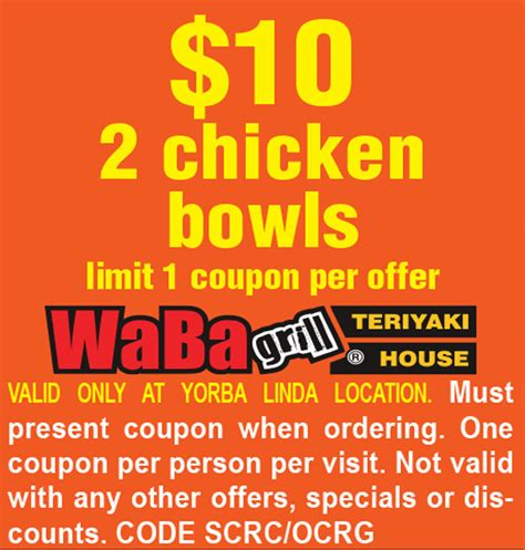 waba grill huntington park coupons
