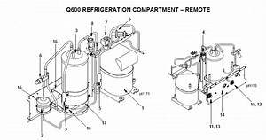 Manitowoc Q600 Series Ice Machine Parts Diagram