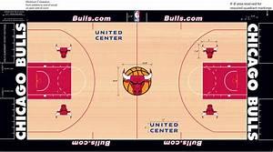 Chicago Bulls unveil new court design : nba