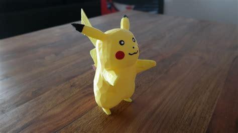pikachu pokemon  gedruckt german reprap