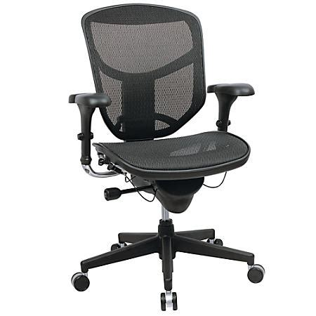 workpro quantum 9000 series ergonomic mesh mid back chair