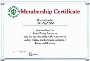 Membership Certificate Templates
