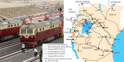 Uganda Mulls Ditching Kenya Sgr Route For Tanzania  The
