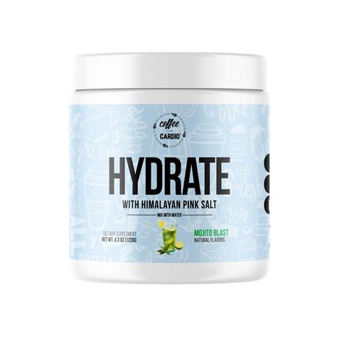 Hydrate by coffee over cardio. HYDRATE with Himalayan Sea Salt is the newest addition to ...