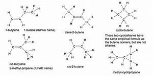 What are the isomers of Butene? - Quora