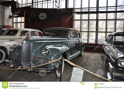 soviet car zis  cabrio editorial stock image image