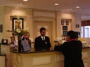 Hilton Garden Inn Beds by Stylish And Comfortable Front Desk Interior Design Of The