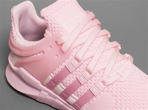 all light pink adidas adidas eqt sneaker women pink