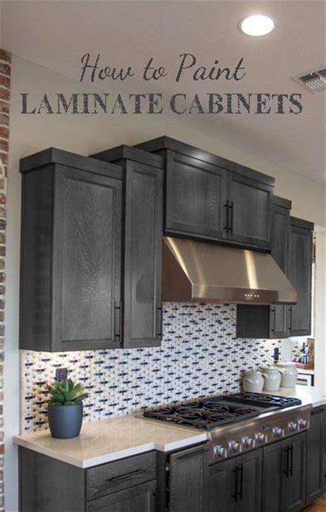 paint laminate cabinets diy homer