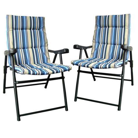 מוצר new 1 or 2 padded folding sun lounger outdoor
