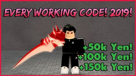 Every Working Yen/rc Code! *old/new* (ro-ghoul)