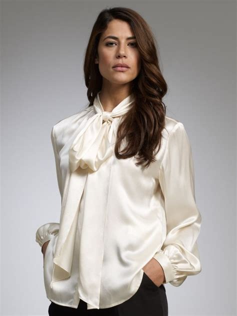 white blouse with bow the s catalog of ideas