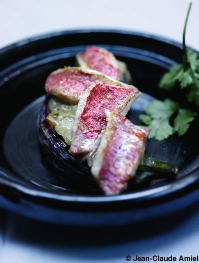 oignon blanc cuisine tartines d aubergines oignons blancs et petits rougets