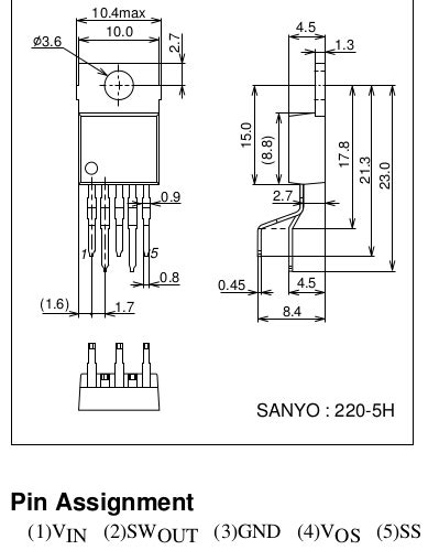 power supply newb voltage regulator pin out question
