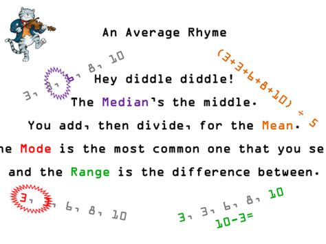Row Row Row Your Boat Lyrics Elephant by Median Mode Range Reminder Rhyme By Ecolady
