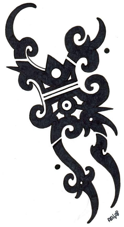 iban tribal tattoo flash  vikingtattoo  deviantart