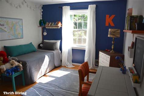 tween boys bedroom makeover reveal