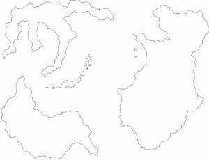 Land Mass Outlines