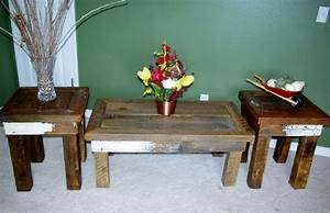 reclaimed rustics rustic coffee table matching end tables With matching coffee table and end tables