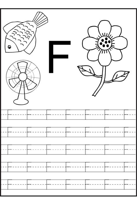 trace  letters worksheets alphabet writing worksheets
