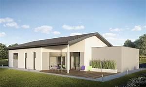 maison toiture plate etancheite toiture terrasse nice With nice agrandir sa maison prix 5 plan et photo de maison avec etage ossature bois par