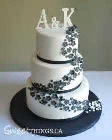 black and white wedding cake sweetthings black white wedding cake