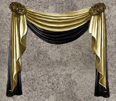 black and gold drapes second marketplace nb curtain drapes gold black