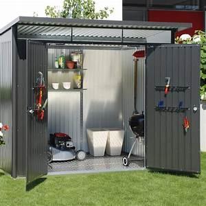 Chalet De Jardin Contemporain : abri m tal avantgarde xl m ep mm leroy merlin ~ Premium-room.com Idées de Décoration