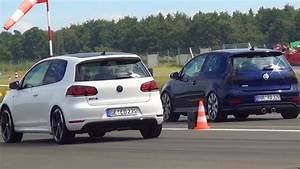 Volkswagen Golf V : vw golf 6 gti vs golf 5 r32 volkswagen 1 4 mile drag race viertelmeile rennen v vi youtube ~ Melissatoandfro.com Idées de Décoration