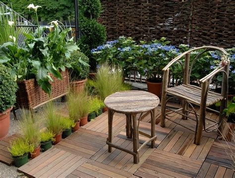 idee deco terrasse bois