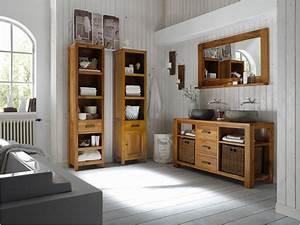 Badmöbel Holz Landhaus : inspirierend badm bel landhausstil elegant home ideen ~ Michelbontemps.com Haus und Dekorationen