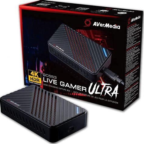 Avermedia Live Gamer Ultra 4k Gaming External Capture