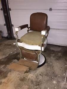 Koken 1920 U2019s Vintage Barber Chair