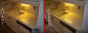 Comment Renover Un Vieux Carrelage : peindre carrelage cuisine plan de travail wasuk ~ Dailycaller-alerts.com Idées de Décoration