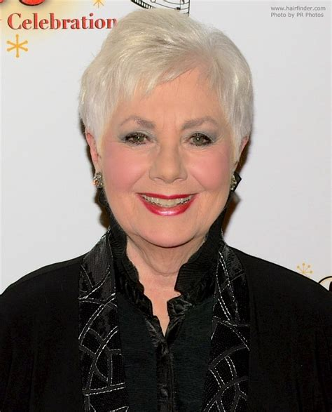 80 years old Shirley Jones   Practical pixie hairstyle for